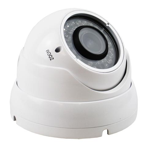 700TVL 30M IR Day Night 2.8 to 12mm Vandal proof Effio E CCTV Camera in White