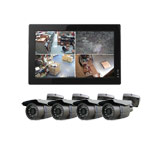 600TVL All In One 4 Bullet Camera CCTV System with 500GB