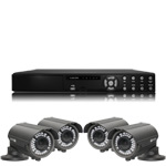 1080P Full HD 4 Camera 30M IR Day Night Vari Focal HD SDI CCTV Kit