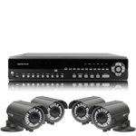 1080P Full HD 4 Camera 30M IR Day Night Vari Focal HD SDI CCTV System