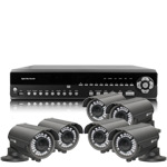 1080P Full HD 6 Camera 30M IR Day Night Vari Focal HD SDI CCTV System