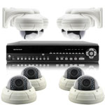 1080P Full HD 8 Camera 15M IR Day Night Vari Focal HD SDI CCTV System