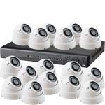 700TVL Effio P 16 Vari Focal Camera D1 30M IR System with Smart Phone Access