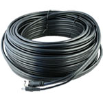 50 Metre Plug n Play RG59 CCTV BNC and Power Cable