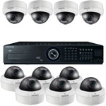 Samsung 600TVL 50M Day Night Vandal Proof 10 Camera Security System
