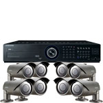 Samsung 600TVL 50M IR Day Night 8 Camera CCTV Security System