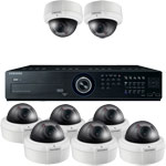 Samsung 600TVL 50M Day Night Vandal Proof 8 Camera Security System